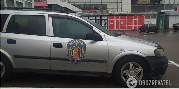 Автомобиль с эмблемой российской «Альфы» переполошил Киев