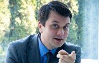«Переиздание Зеленского»: почему спикер Рады Разумков начал свою политическую игру