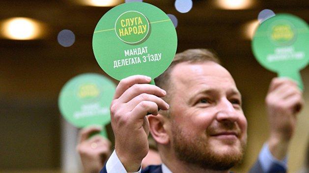 «Слуга народа»: как партия Зеленского строит КПСС