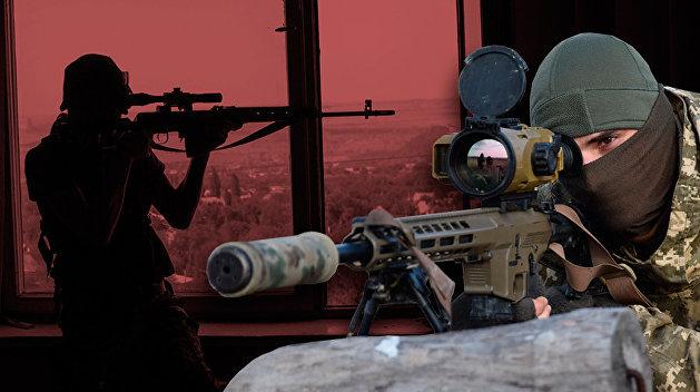 Своим и чужим. Чем воюют украинские снайперы в Донбассе