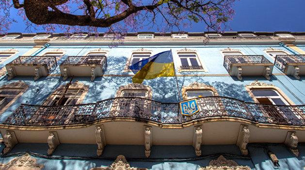 Посольство Украины в Берлине. Почтовый адрес — Жмеринка, до востребования