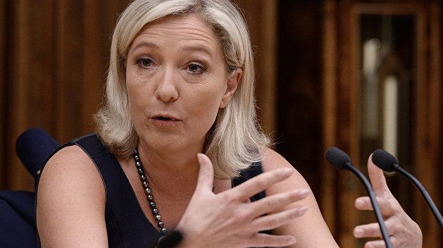 РИА Новости: Марин Ле Пен: голос Франции в мировом хоре будет звучать отдельно