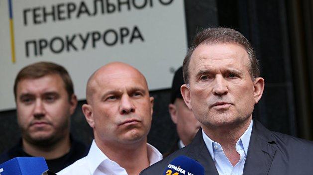 Репрессии на Украине: лидера силового крыла партии Медведчука заключили под стражу