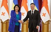 Украина и Грузия договорились усилиться в Черноморском регионе