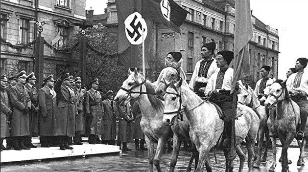 «Нацисты,  вперед»: Верховная Рада предложила отпраздновать 80-летие создания УПА*