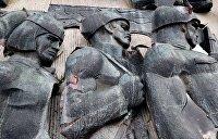 Советский Монумент славы во Львове стал частью «Территории террора»
