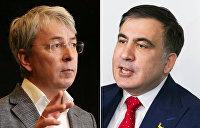 Саакашвили против Ткаченко. Команда Зеленского берёт под контроль строительную отрасль Украины