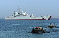 Украина и Грузия провели военные учения в Черном море