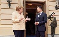 «Прохладная встреча»: что СМИ Европы написали о визите Меркель в Киев