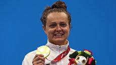 Украинская пловчиха принесла стране третье золото на Паралимпиаде