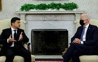 «Нормальный мужской разговор»: Зеленский охарактеризовал встречу с Байденом
