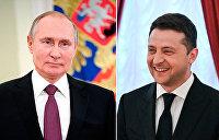 Фарш обратно не провернешь. Зачем в Киеве намекают на встречу Зеленского с Путиным?