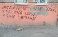 «Пусть валят домой». Украинские нацисты против афганских беженцев