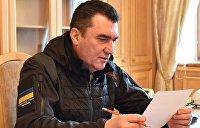 Глава СНБО Украины перешел на латиницу и совершил три ошибки в одном предложении