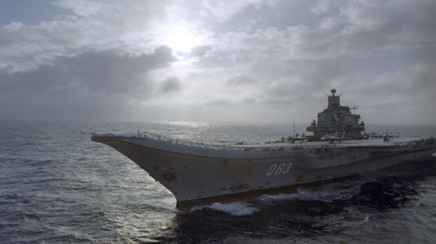 Авианосец «Адмирал Кузнецов» в Николаеве переполошил националистов