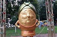 На Украине увековечили картошку