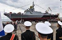 Ответ на эсминцы НАТО. В Керчи спустили на воду новейший боевой корабль