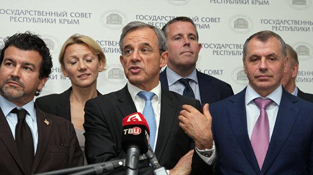Французского депутата лишили поста в ПАСЕ из-за поездки в Крым