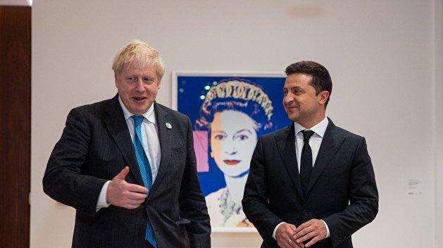 Зеленский передал премьеру Британии список из 450 украинцев