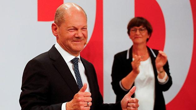 Главный кандидат на пост канцлера Германии впервые после выборов откровенно высказался о «Северном потоке-2»