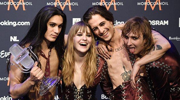 «Это было по-русски»: победители «Евровидения» «Манескин» угодили в скандал на Украине