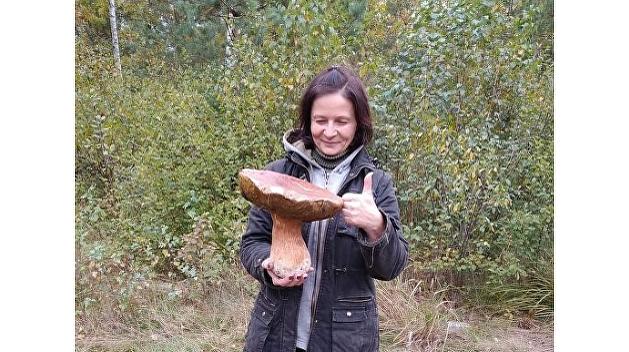 «Чернобыль forever»: украинка нашла гриб-гигант