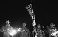 Украинские неонацисты из «Азова» устроили языческую мистерию