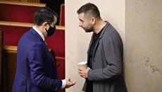 «Холодная война»: Арахамия объяснил, почему инициировал отставку Разумкова