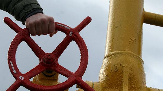 На Украине приостановили закачку газа в подземные хранилища