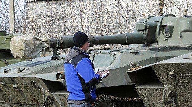 ОБСЕ обнаружила тяжелые вооружения ВСУ на линии соприкосновения