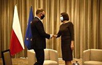 Варшавский форум по безопасности: Президент Польши, главы МИД и примкнувшая к ним Тихановская