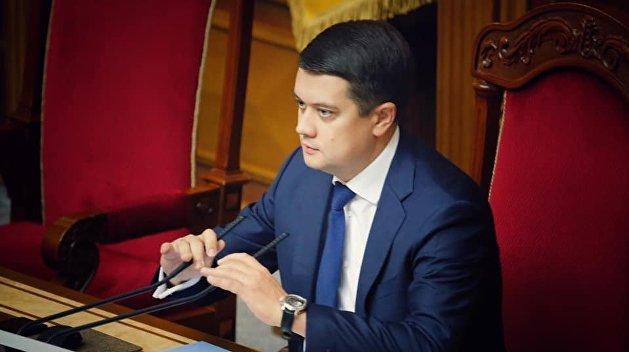 Эксперт объяснил, почему попытка забрать мандат у Разумкова сыграет против Зеленского