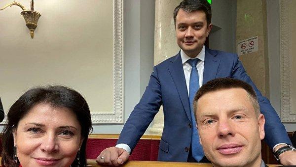 Разумков поддержал «троллинг» Гончаренко над Стефанчуком - фото