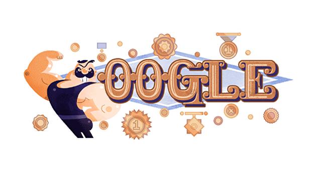 Google отметил юбилей Ивана Поддубного