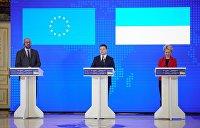 Зеленский требует в заявлении с ЕС связать РФ с конфликтом в Донбассе