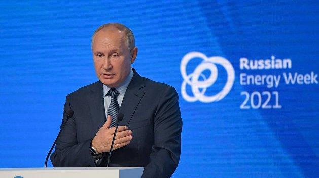 Путин обозначил два главных вопроса по транзиту газа через Украину