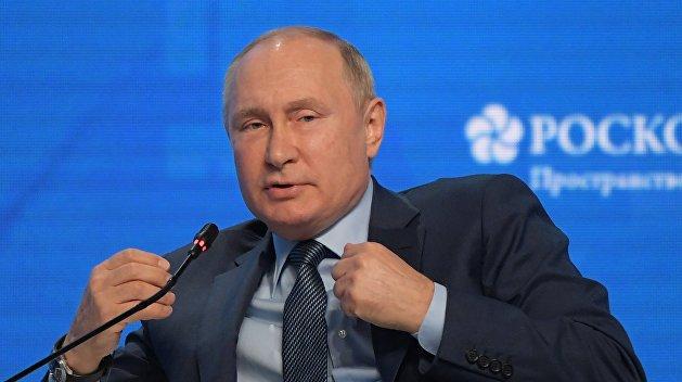 «Сапоги всмятку»: Путин прокомментировал слова о том, что РФ хочет лишить Украину транзита