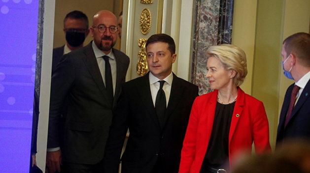 В поисках виноватого. Украинская власть получила пощечину от ВИП-чиновника ЕС